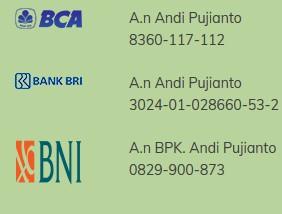 Rek bank Kurma sehat