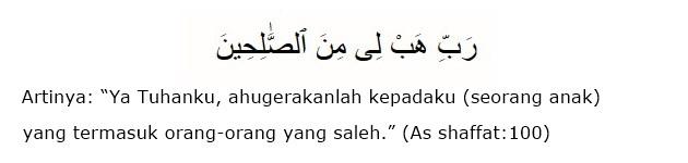 Doa Nabi Ibrohim Mohon putra yang sholih